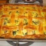 broccoli sausage pie