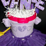 DANCE RECITAL COOKIES IN A TUTU PLANTER!