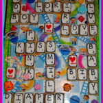 EDIBLE SCRABBLE BOARD