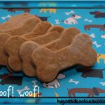 "Peanut Butter ""Snicker-Poodle"" Dog Biscuits"