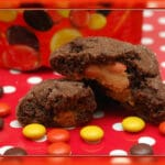 REESE'S PIECES STUFFED COOKIES