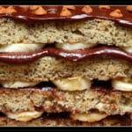 BANANALISCIOUS FUDGE CAKE