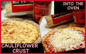 GF FRIDAY-CAULIFLOWER PIZZA CRUST