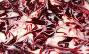 RED VELVET BROWNIES WITH CHEESECAKE SWIRL