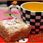 CRAZY GOOD CRUMB CAKE!