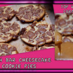 HEATH BAR CHEESECAKE COOKIE PIES