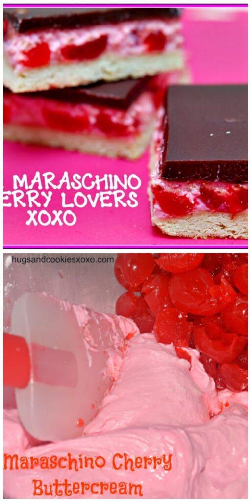 maraschino cookie bars