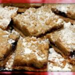 MILE HIGH RASPBERRY BARS