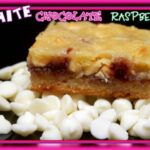 WHITE CHOCOLATE RASPBERRY BARS