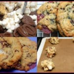 MARSHMALLOW, RASPBERRY, MILK CHOCOLATE COOKIES