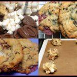 MARSHMALLOW, RASPBERRY, MILK CHOCOLATE COOKIES