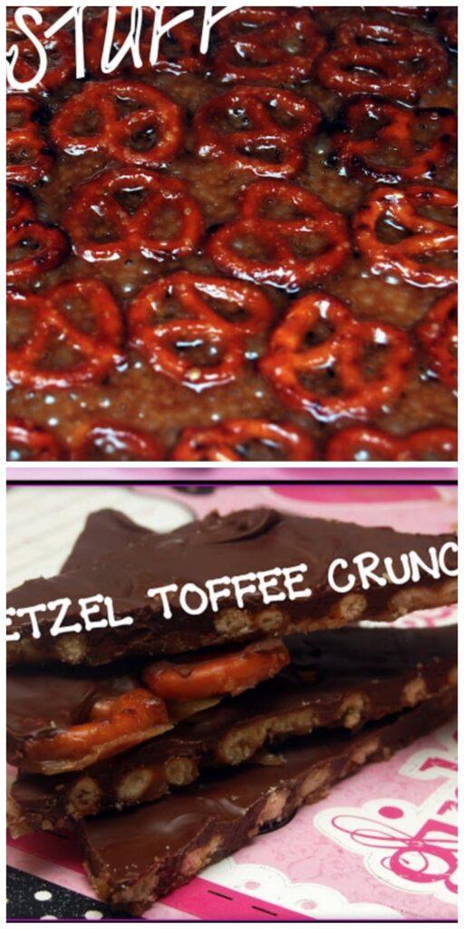pretzel toffee crunch