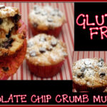 CHOCOLATE CHIP MUFFINS (GLUTEN FREE-OR REGULAR VERSION)
