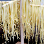DRYING OUT HOMEMADE GLUTEN FREE SPAGHETTI