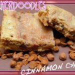 SNICKERDOODLE BLONDIES WITH CINNAMON CHIPS