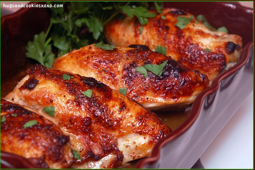 maple syrup chicken