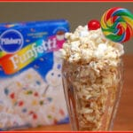 WHITE CHOCOLATE CAKE BATTER POPCORN!