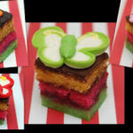 RAINBOW COOKIE PETIT FOURS