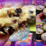 GF BLUEBERRY CRUMB MUFFINS