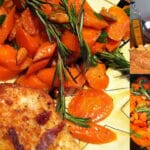 CHEESE COATED CHICKEN CUTLETS WITH THE BEST CARROTS
