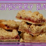 SIMPLY PUT……THE BEST RASPBERRY BARS EVER!!!!