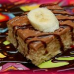 BANANA COOKIE BARS WITH NUTELLA FROSTING
