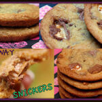 DEEP DISH MILKY WAY & SNICKERS COOKIES