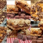 CARMELITA BARS STUFFED WITH ROLOS!!!