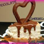 CHEESECAKE WITH CARAMEL & CHOCOLATE