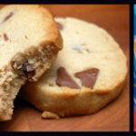 PEANUT BUTTER & MILK CHOCOLATE CHIP SHORTBREAD COOKIES