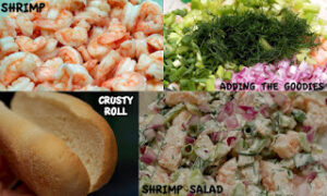 MOVE OVER LOBSTER ROLLS….WE HAVE SHRIMP SALAD ROLLS