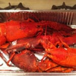 LOBSTER SALAD ….START WITH 7 POUNDS OF LOBSTER