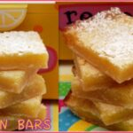 LEMON BARS TO CELEBRATE LEMON MERINGUE PIE DAY