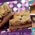 PEANUT BUTTER & JELLY BARS!