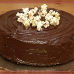 POPCORN INFUSED CAKE