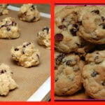 WHITE CHOCOLATE DRIED CRANBERRY COOKIES