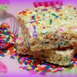 """SPRINKLE-ICIOUS"" RICE KRISPY TREATS!"