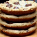 PEANUT BUTTER ROLO COOKIES WITH SEA SALT
