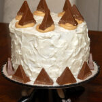 6 LAYER TOBLERONE CAKE