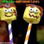 FRANKENMARSHMALLOW POPS