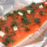 SALMON WITH FRESH DILL