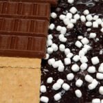 BROWNIES STUFFED WITH S'MORES