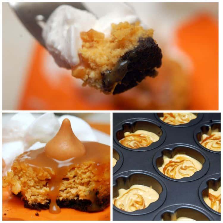pumpkin cheesecake caramel