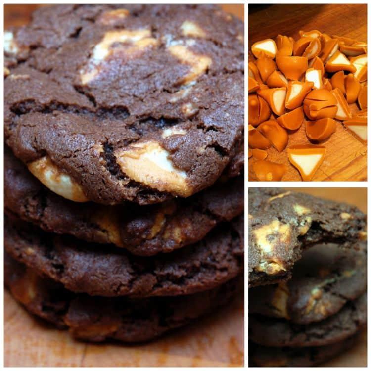 CHOCOLATE PUMPKIN KISS COOKIES - Hugs and Cookies XOXO