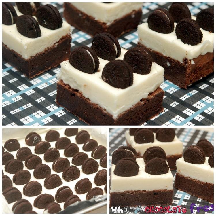 oreo brownies white chocolate