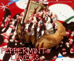 PEPPERMINT LOVER'S CREAM PUFFS!
