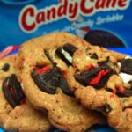 CANDY CANE OREOS MEET CHOCOLATE CHIP COOKIES….BECAUSE 2 COOKIES ARE BETTER THAN 1