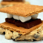 S'MORES STUFFED CHOCOLATE CHIP COOKIES….COMPLETELY OVERSIZED!