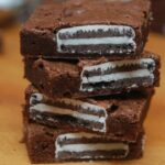 WHITE FUDGE OREO BROWNIES