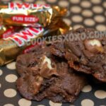 DOUBLE CHOCOLATE TWIX BAR COOKIES